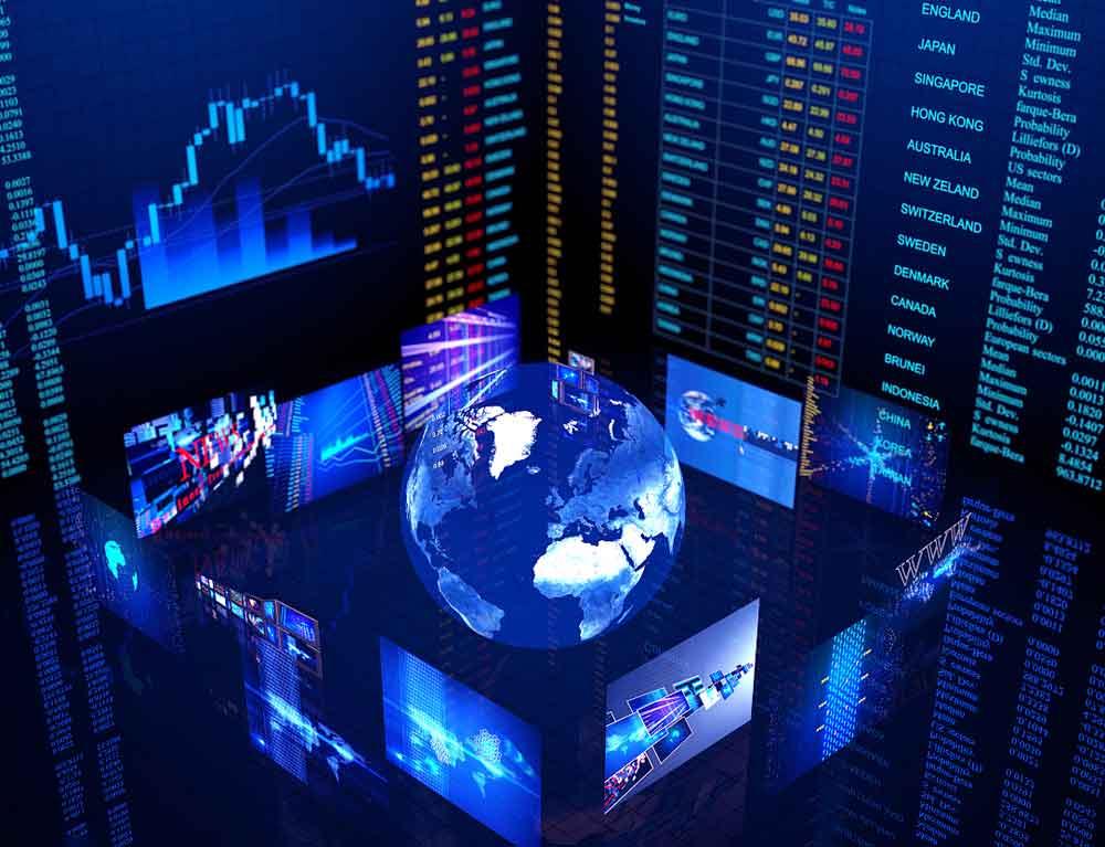 大数据综合大屏展示
